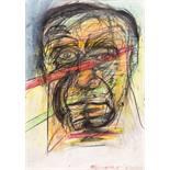 Opening: 2000 EUR        Franz Ringel  (Graz 1940 - 2011 Graz)  Portrait Antonio Porcia