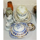 A collection of various tea and dinner ware and miscellaneous items.