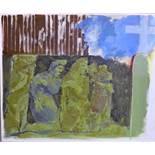 Jacquie Gulliver Thompson (1942-2007), 'The Unquiet Dead IV, Mexico,' 2006, oil on canvas,