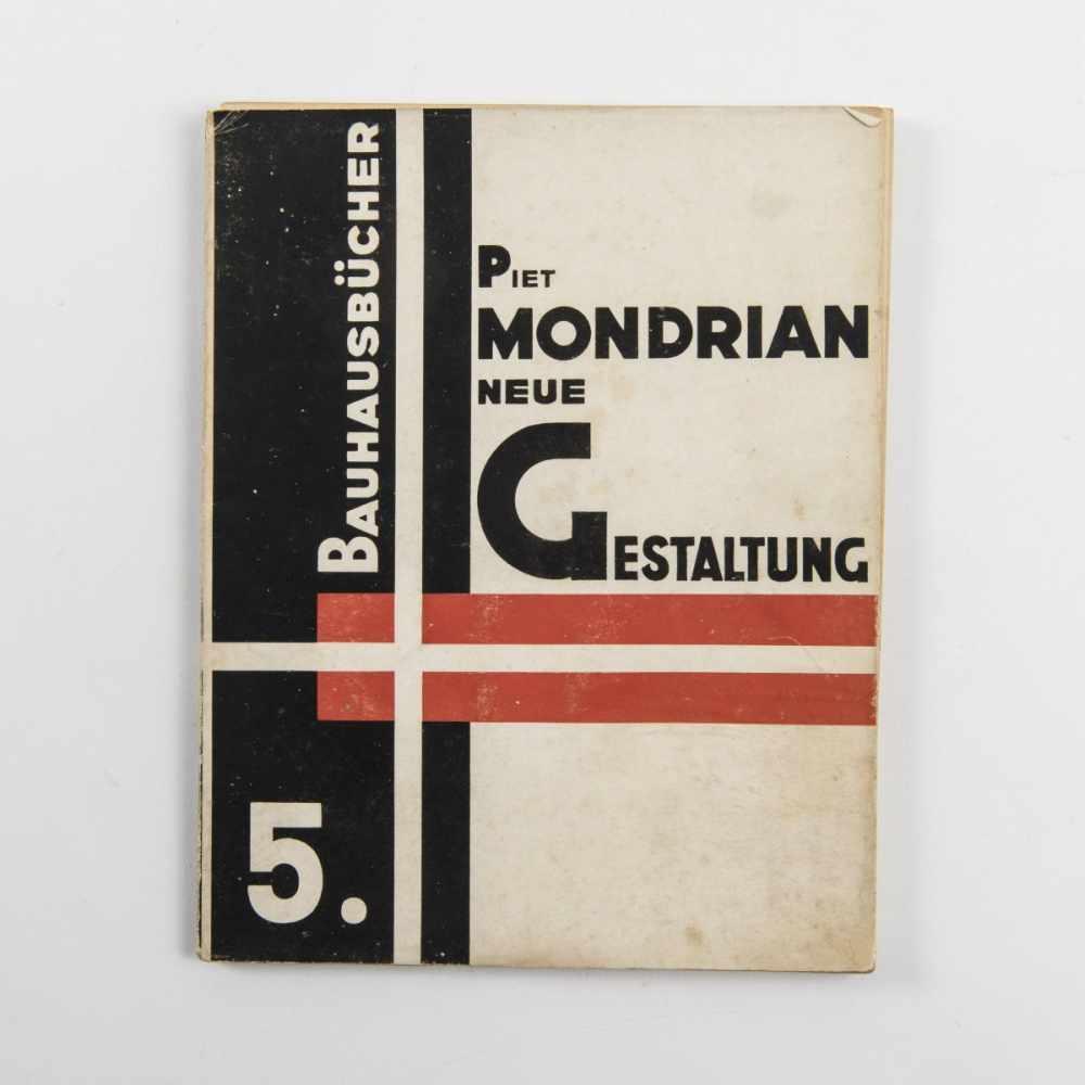 Piet Mondrian, Bauhausbücher 5, Neue Gestaltung, 1925Bauhausbücher 5, Neue Gestaltung,