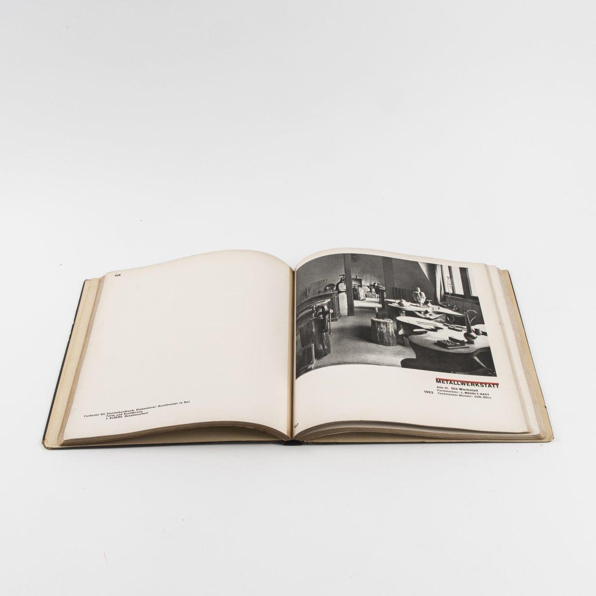 Los 6 - Herbert Bayer; László Moholy-Nagy, Katalog 'Staatliches Bauhaus in Weimar 1919 - 1923' Katalog '