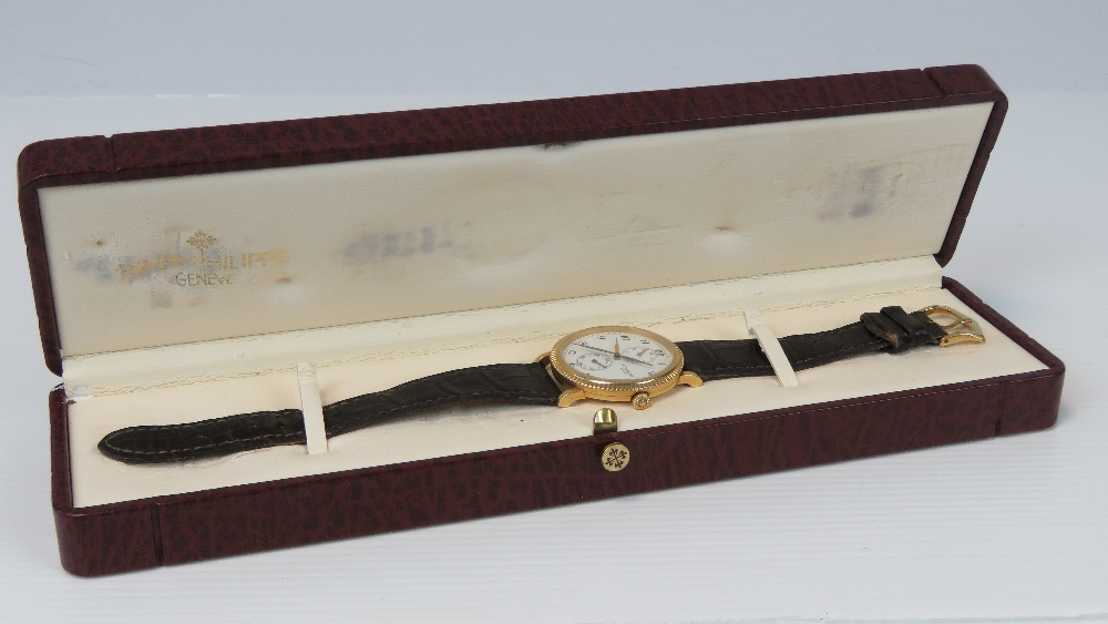 An 18ct gold Patek Philippe Travel Time - Image 7 of 9