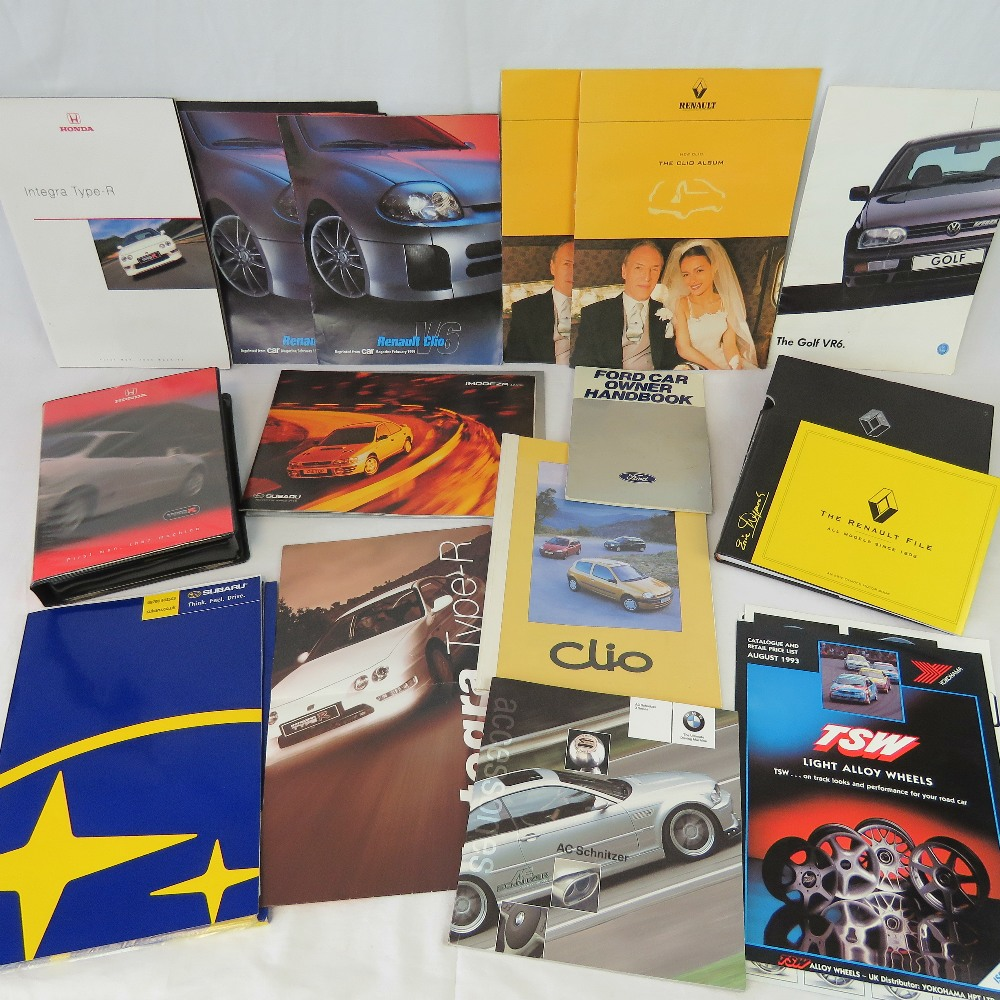 Lot 663 - A collection of Renault, VW, Honda, BMW,