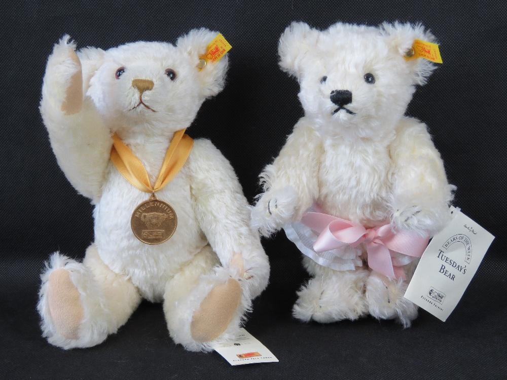 A Steiff Millennium Teddy bear, 32cm hig