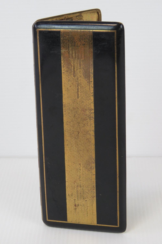 A French Art Deco black enamel cigarette - Image 2 of 4