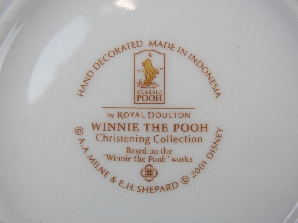 Lot 467 - A Royal Doulton Winnie the Pooh Christen