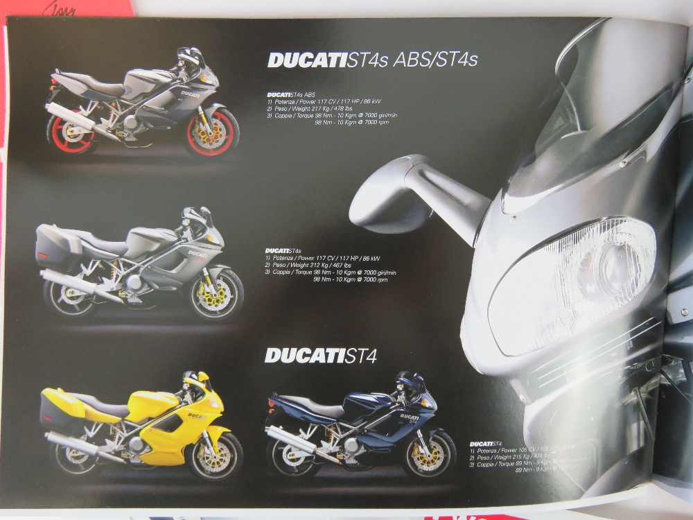 Lot 675 - Ducati books; 'Ducati 1999' in original