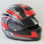 A TS15 motorcycle helmet, size small, co