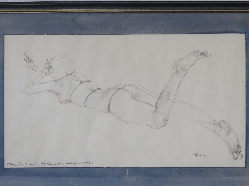 Lot 702 - Henry Bird (Northampton local artist); a
