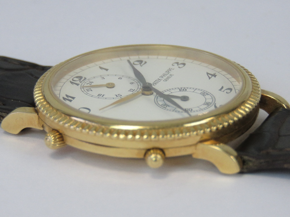 An 18ct gold Patek Philippe Travel Time - Image 6 of 9