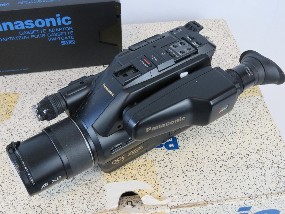 A Panasonic NV-G3B VHS movie camera and - Image 2 of 2