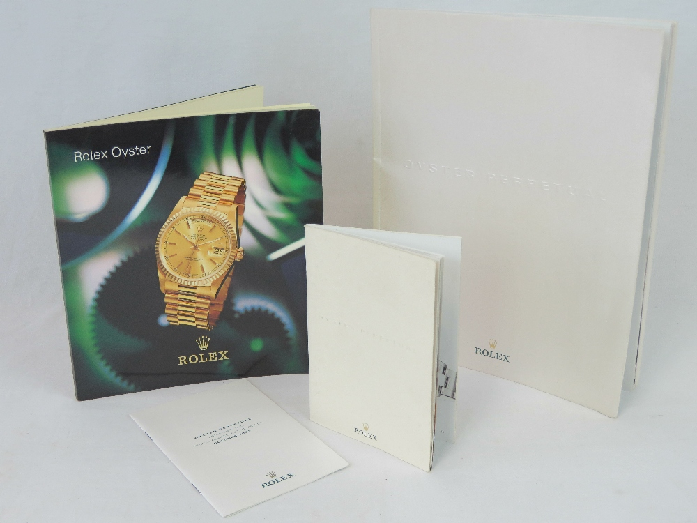 Lot 359 - Four Rolex Oyster promotional booklets i