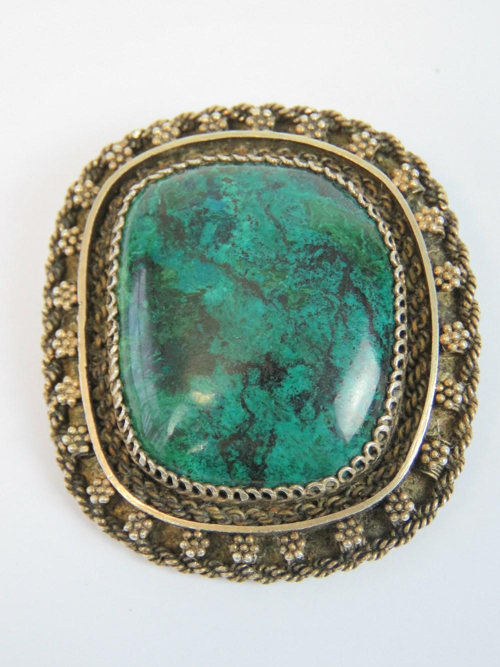 Lot 150 - A 935 Mexican silver handmade brooch/pen
