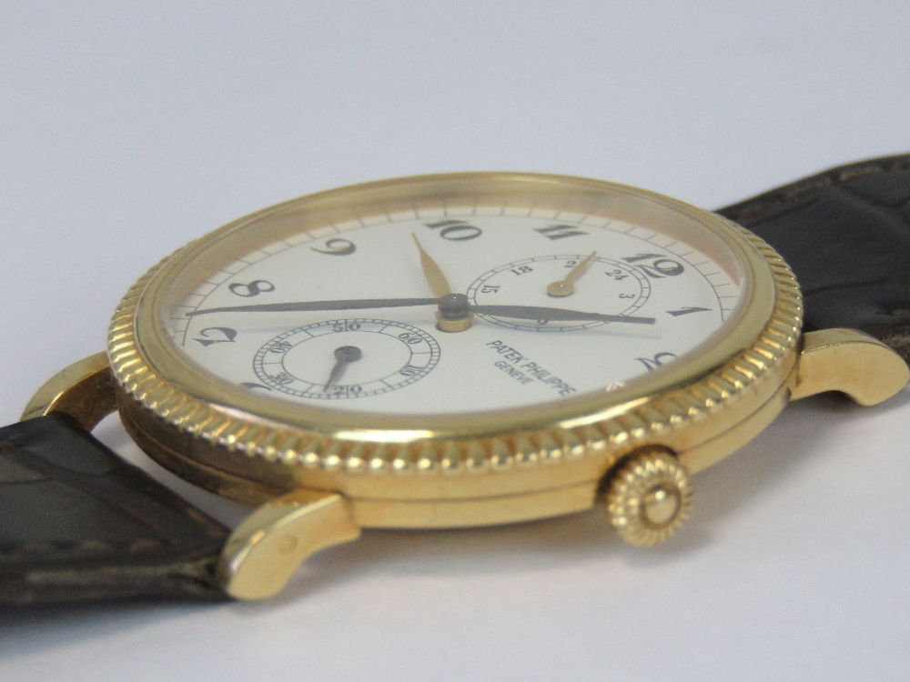 An 18ct gold Patek Philippe Travel Time - Image 5 of 9