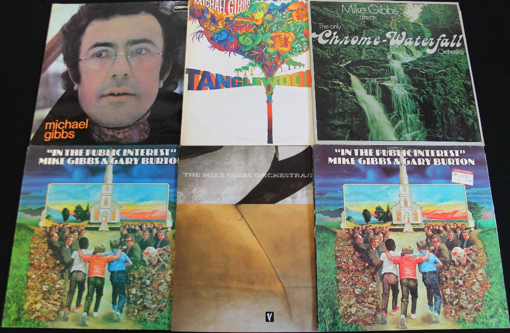 Lot 25 - MICHAEL GIBBS - Excellent selection of 6 x LPs featuring the revered trombonist.