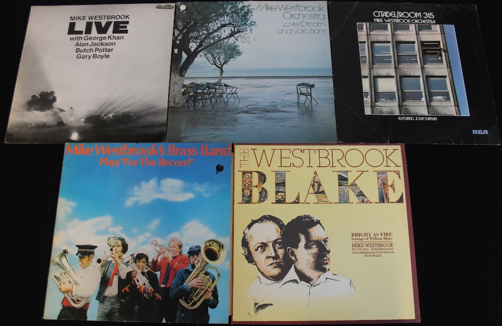Lot 54 - MIKE WESTBROOK - Lovely selection of 5 x LPs.