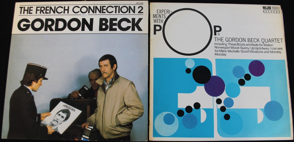Lot 51 - GORDON BECK - 2 x extremely clean LPs from the marvelous pianist.