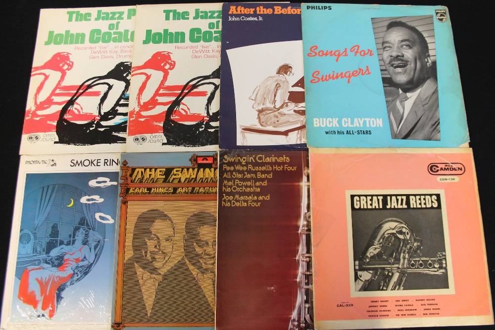 Lot 6 - JAZZ - LPs - Around 100 x swingin' LPs! Artist/titles include The Buck Clayton Septet,