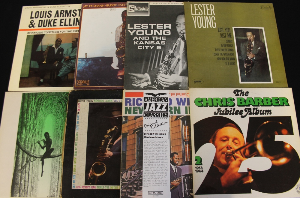 Lot 7 - JAZZ - LPs - LPs galore again with approximately 100 x long players to pick from.