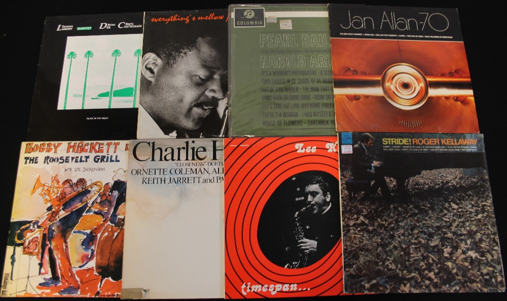 Lot 2 - JAZZ - LPs - Brilliant wide ranging collection of over 100 x LPs with Improvisation, Blues, R&B,