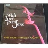 Lot 48 - STAN TRACEY QUARTET - WITH LOVE FROM JAZZ MONO - A virtually non existent 1st UK mono pressing of