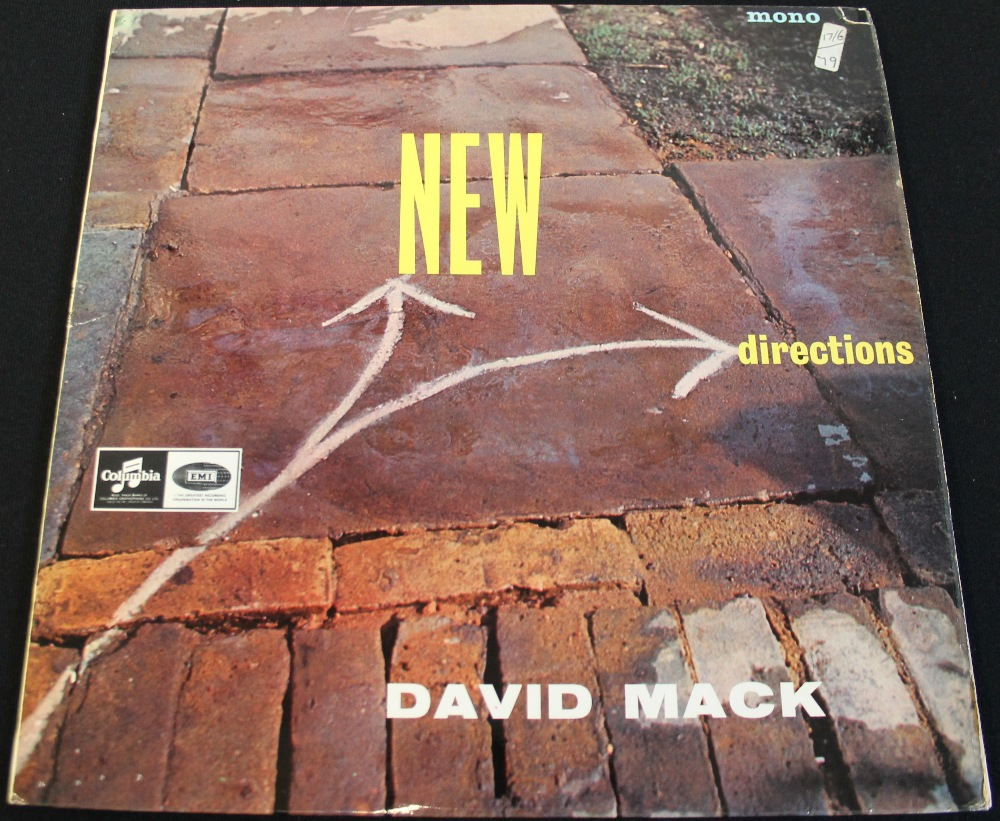 Lot 45 - DAVID MACK - NEW DIRECTIONS - A rare Lansdowne Series Columbia pressing of the contemporary work