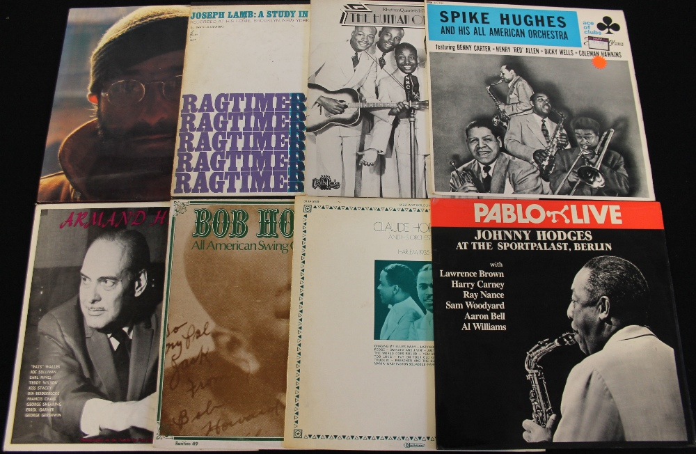 Lot 3 - JAZZ - LPs - Another ace collection of over 100 x LPs taking us from Louisiana R&B to the ragtime