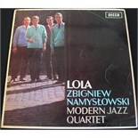 Lot 27 - THE ZBIGNIEW NAMYSLOWSKI MODERN JAZZ QUARTET - LOLA - The fantastically few on the ground original