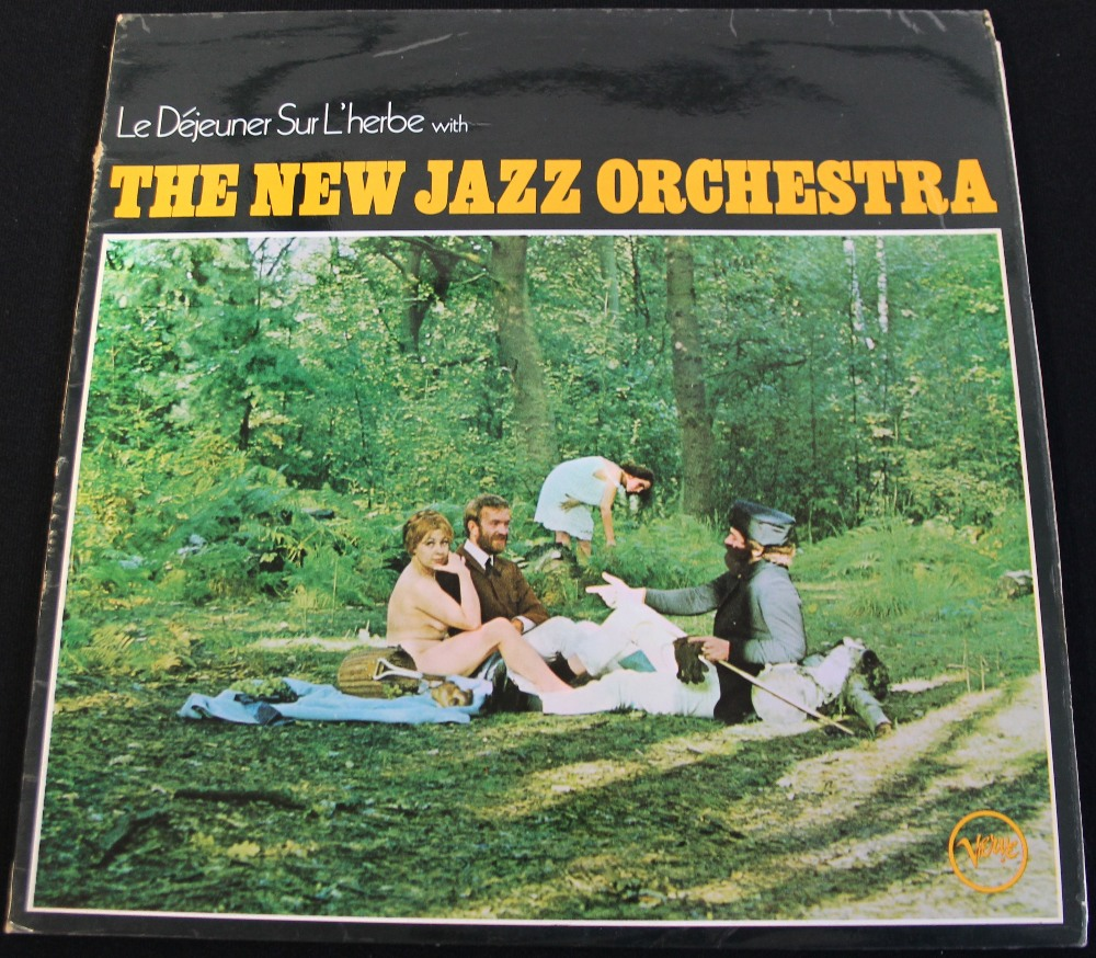 Lot 41 - THE NEW JAZZ ORCHESTRA - LE DEJEUNER SUR L'HERBE - The extremely few on the ground original UK mono