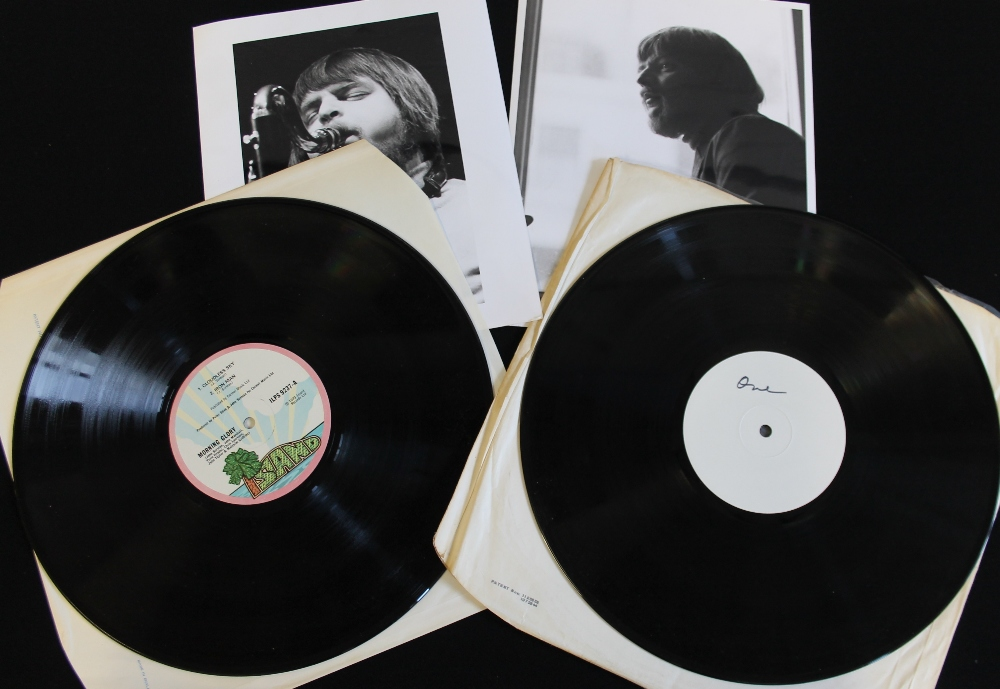 Lot 20 - MORNING GLORY - Super selection of the original Island release and a white label promo issue (both