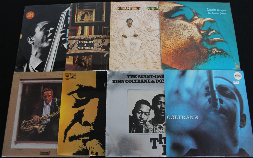 Lot 59 - CHARLIE MINGUS/JOHN COLTRANE - 18 x LPs from these two hugely influential figures.