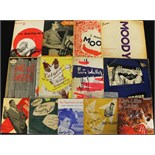 "Lot 1 - THE MILES KINGTON COLLECTION - 10"" JAZZ - We start off this incredible collection of Jazz and Blues"