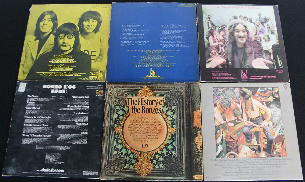 Lot 32 - THE BONZO DOG BAND - Smashing pack of 6 x LPs.