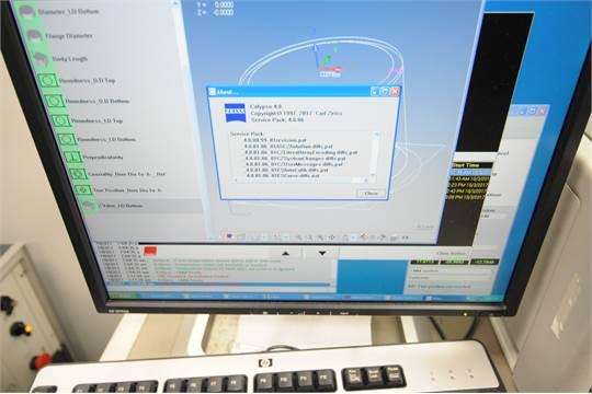 ZEISS ECLIPSE 4040-20/24 DCC, BRIDGE TYPE CMM WITH ZEISS CALYPSO 4 8