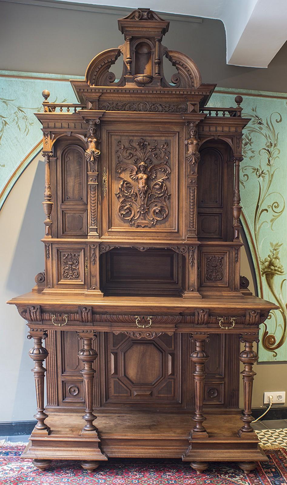 Muebles Renacentistas - Mueble De Dos Cuerpos Francia Siglo Xix Estilo Renacentista [mjhdah]https://cloud10.todocoleccion.online/antiguedades/tc/2015/11/30/03/53054658.jpg
