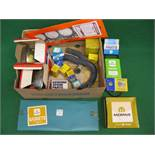 Box of boxed/unused vehicle spares to include Chrysler parts etc