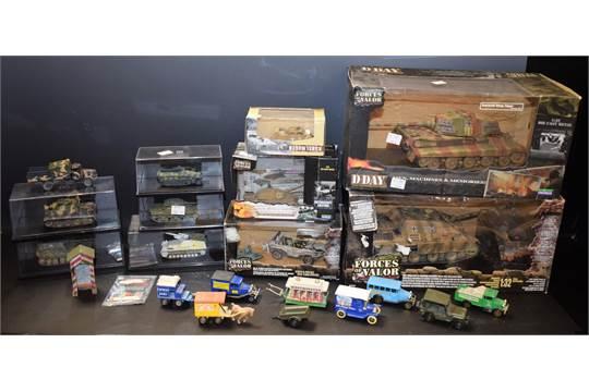 Model Vehicles - a Unimax Toys Forces Of Valor die-cast