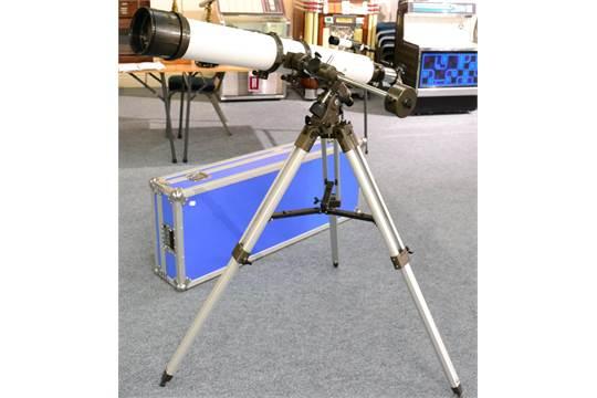 Phenix f refracting telescope mm focal length