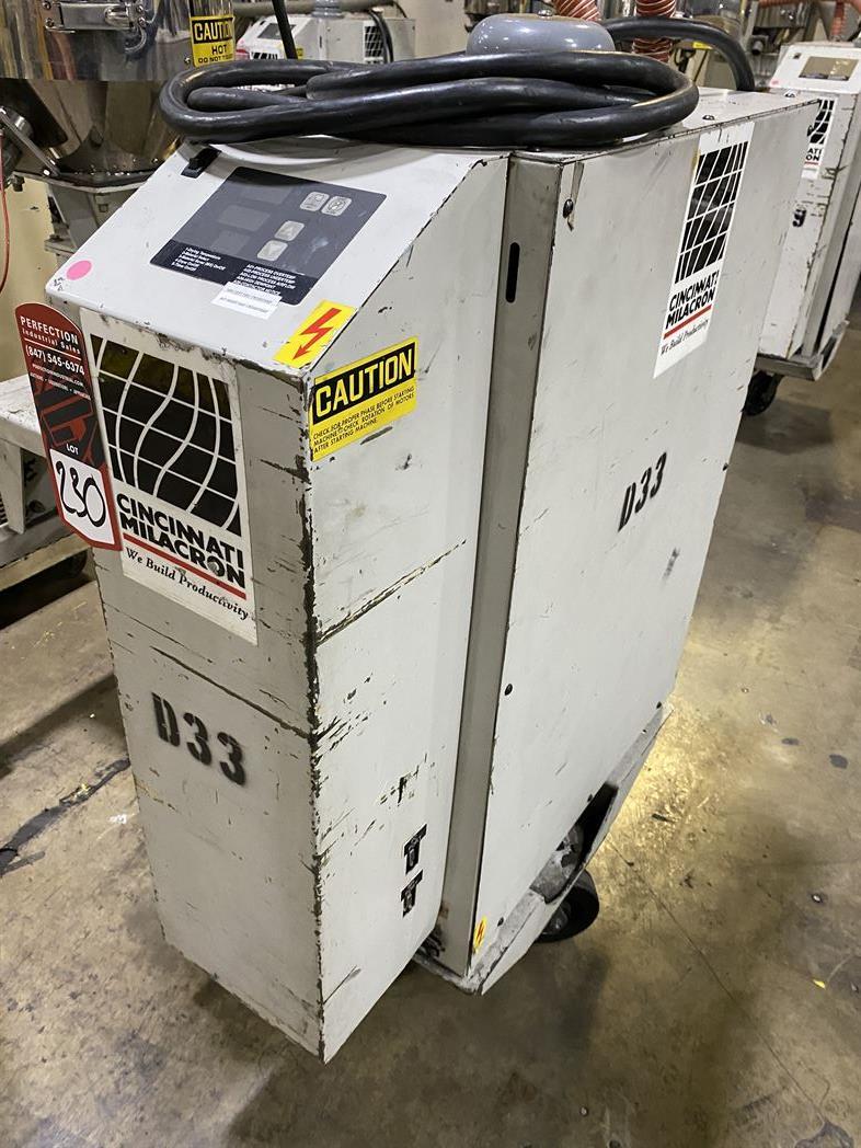 Cincinnati Milacron M-GS-60 Hopper Dryer System, s/n 3933A01-04-33, w/ Vacuum Loader - Image 3 of 6