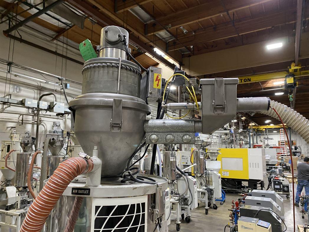 Cincinnati Milacron M-GS-60 Hopper Dryer System, s/n 3933A01-04-33, w/ Vacuum Loader - Image 6 of 6