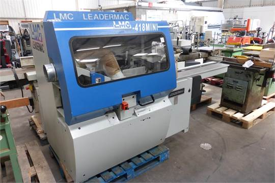 Leadermac  418 Mini, 4 Sided Planer Capacity 180mm with
