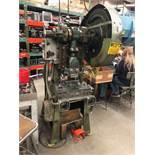 Havir / Press Rite O.B. I. Punch Press Model #2 Air Operated Mechanical Clutch 20 Ton Capacity