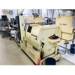 2007 TSUGAMI Swiss Type Automatic Screw Machine Model BW12-III CNC 7 Axis, Fanuc Ser. 16i-T Cont.