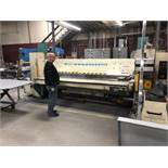 2001 Fasti Model 225-32-4 Folding Machine S/N: 01 225 03, Delem 200 CNC Control, Bending