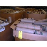 LOT OF CARDBOARD TUBES, assorted