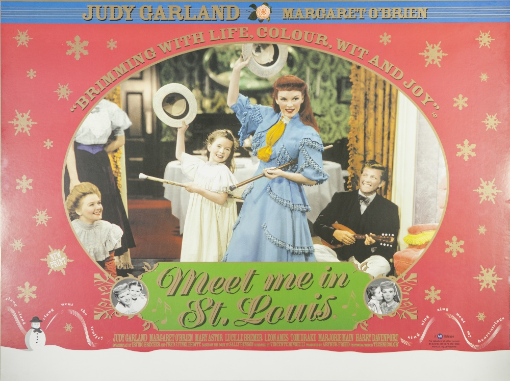 """Lot 14 - SEVEN BRIDES FOR SEVEN BROTHERS M.G.M. 1954, British quad, 28"""" x 38"""" (image) featuring Jane Powell"""