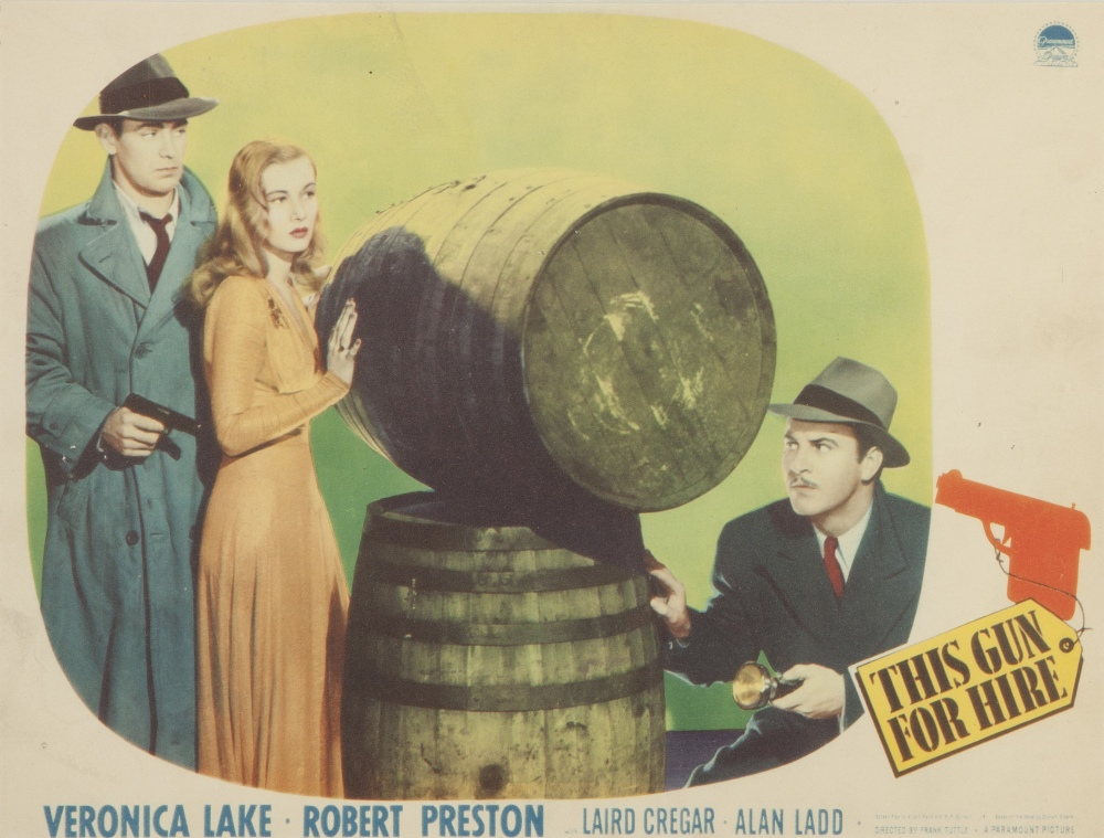 Lot 45 - FIVE VARIOUS, CIRCA 1950s, LOBBY CARDS, viz 'Two Weeks in Another Town', 'Undercurrent', 'This Gun