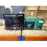 2 boxes of LED string lights