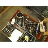 LOT 50 Taper Tool Holders in Bin
