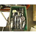 LOT Approx. (26) Valenite Cat 40 Tool Holders